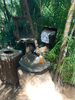 Outside hand washing station