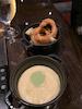 Onion rings & Yukon Gold Mash with Wasabi