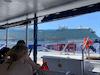 Boat ride to private island