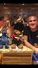 Simon the cruise director with Linden bear London bear