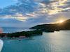 Sunrise from ship