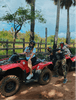 friendly atv tour guide posing with us