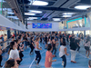 A dance class in the Seaplex on Ovation of the Seas