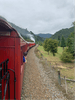 Steam train ride from Picton to Blenheim