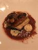 Black cod w foie gras