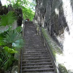 Queen's Staircase in Nassau