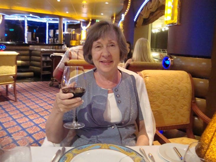 Dinner at the Diamond Steakhouse - Carnival Liberty