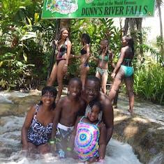 Conquered the falls in Jamaica