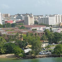 View of San Juan From Port