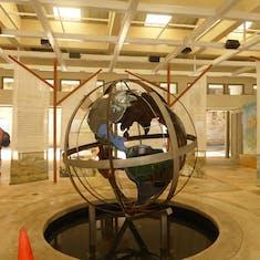 Globe Inside Center