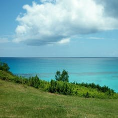 Church Bay - beautiful Bermuda beach with good snorkeling.
