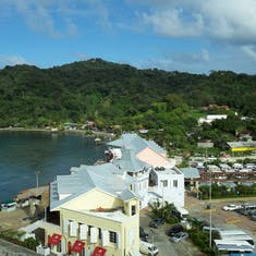 Port of Roatan, Honduras