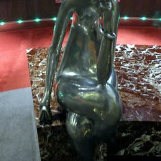 Sculptures on Ship
