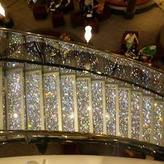 Glitzy Staircase - Crystal