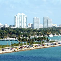 Ft Laudedale from Ship