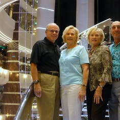 Our Party of Four - Bill, Linda, Glo & Milt