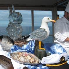 """Open deck """"Seafood Extravaganza"""""""
