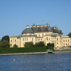 Royal summer palace--Stockholm Sweden