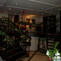 AmaDolce decorated for Christmas