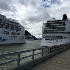 Pearl and Jewel in Skagway