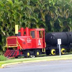 Bacardi Outdoor Train Exhibit