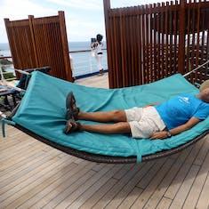 Life is good! Ship hammock