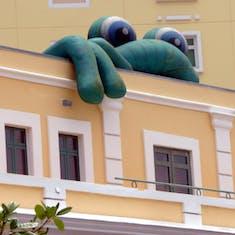 Senor Frog on Building San Juan