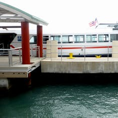 Water Taxi to Babardi Distillery