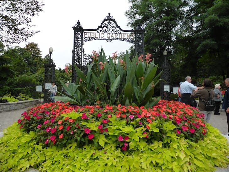 Halifax Public Gardens Entrance - Celebrity Summit