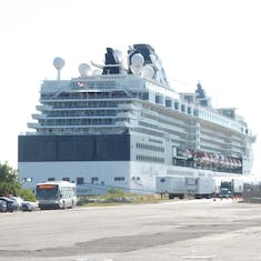 Our ship in Bayonne NJ