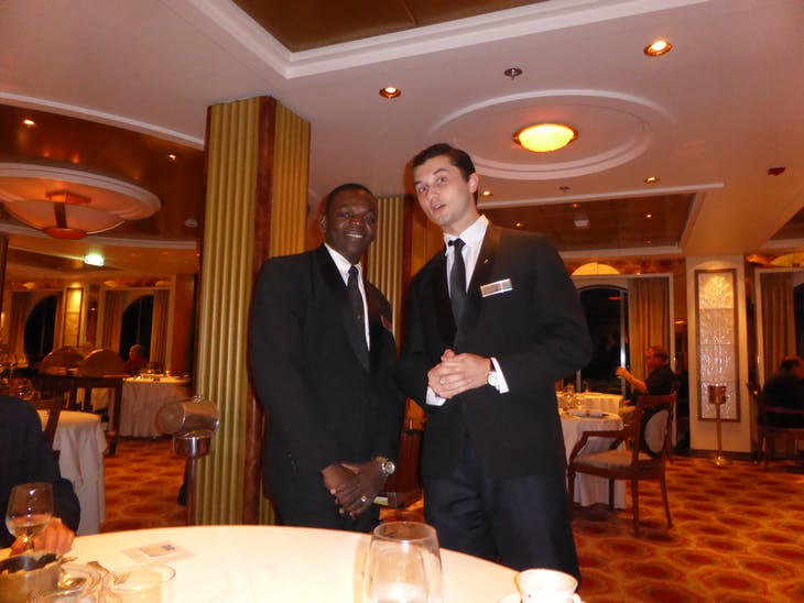 Our servers at the Normandie - Celebrity Summit