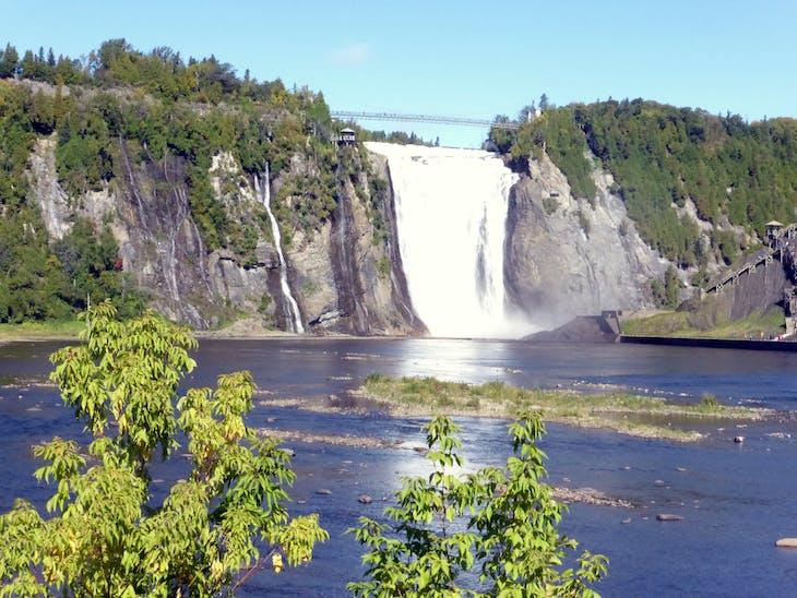 Beautiful Mont Morency Waterfall - Celebrity Summit