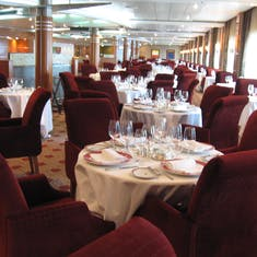 Main Dining Room--Seven Seas Mariner--Yummy