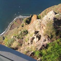 Funchal, Madeira - Tallest vertical cliff in Europe--Madeira Islands