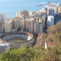 Malaga, Spain - Active Bull ring--Malaga, Spain