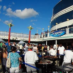 Sailaway Deck Party barbecue