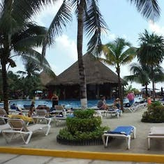 Costa Maya beach area