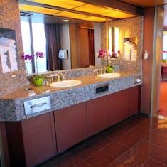 Large Elegant Ladies Restroom