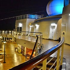 Night view of Pool - Deck 8