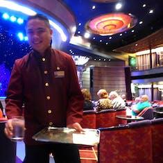 Server in Queen's Lounge