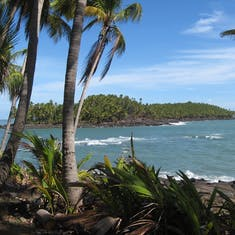 """Devils  Island, French Guiana - The famous """"Devil's Island"""", see Steve McQueen--Pappion"""
