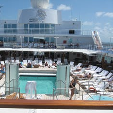 Pool Deck on Seven Seas Navigator
