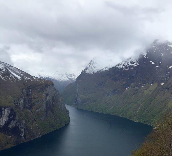 Geiranger, Norway - Geiranger arrival