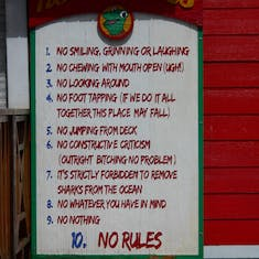 Frog's Rules