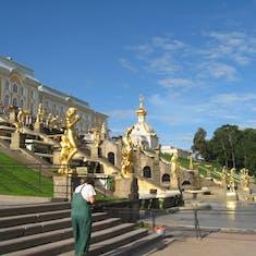 Peterof Palace--St Petersburg, Russia
