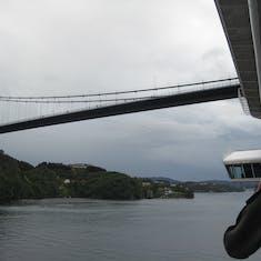 Leaving Bergen, Norway
