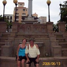 Photo op in San Juan