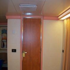Door to the bathroom.
