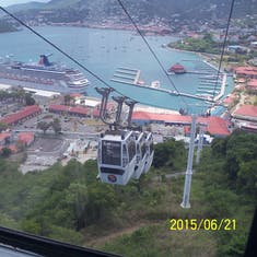 Charlotte Amalie, St. Thomas - View from Paradise Point.