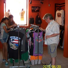 San Juan, Puerto Rico - Harley Davidson store.